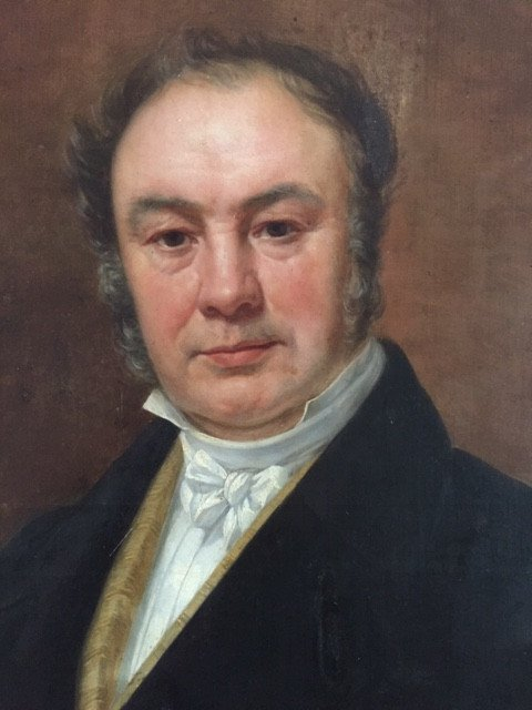 Portrait Of A Lawyer, Signed Charles Picqué And Dated 1846