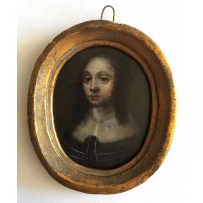 Miniature On Copper From The XVII, Dutch School
