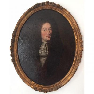 Portrait Of An Aristocrat In The Time Of Louis XIV, French School In The Style Of The 17th Century