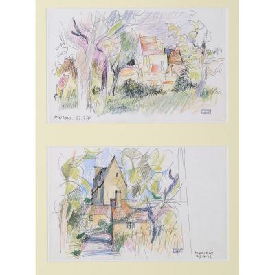 Jean Cluseau-lanauve (1914-1997) Mauzens Périgord Dordogne Sarlat