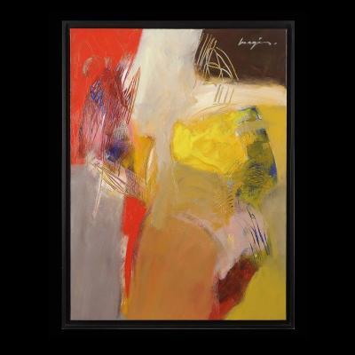 Pascal MAGIS (1955-2011) Sans titre Abstrait 1996 Périgord Dordogne