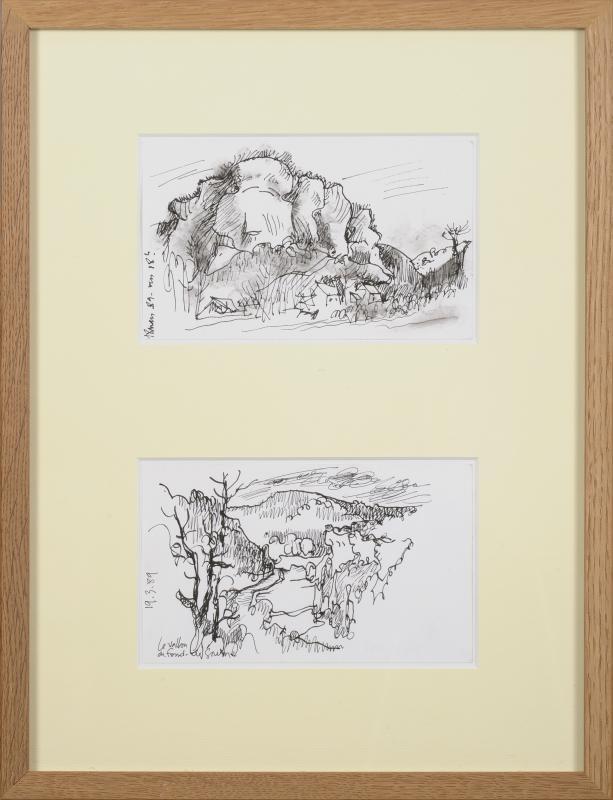Jean Cluseau-Lanauve (1914-1997) Fond de Gaume aux Eyzies Périgord Dordogne Sarlat-photo-2