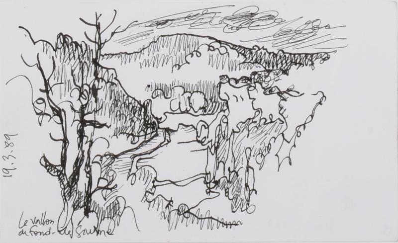 Jean Cluseau-Lanauve (1914-1997) Fond de Gaume aux Eyzies Périgord Dordogne Sarlat-photo-4