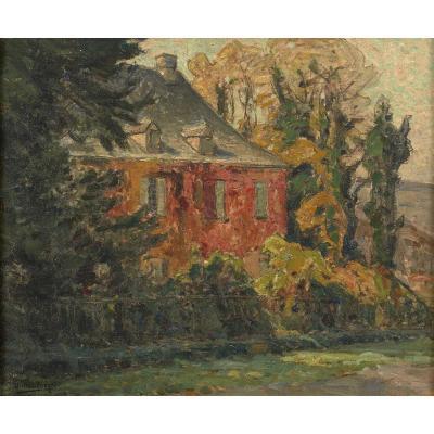 William Didier-pouget (1864-1959) Manoir De Tayac Eyzies Sarlat Périgord Dordogne