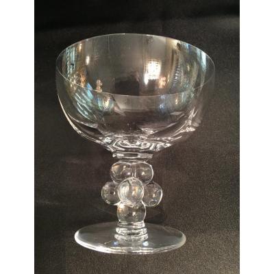 Pièces du service Lalique, modèle  Clos Vougeot
