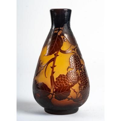 D'Argental, Vase Aux Mûres