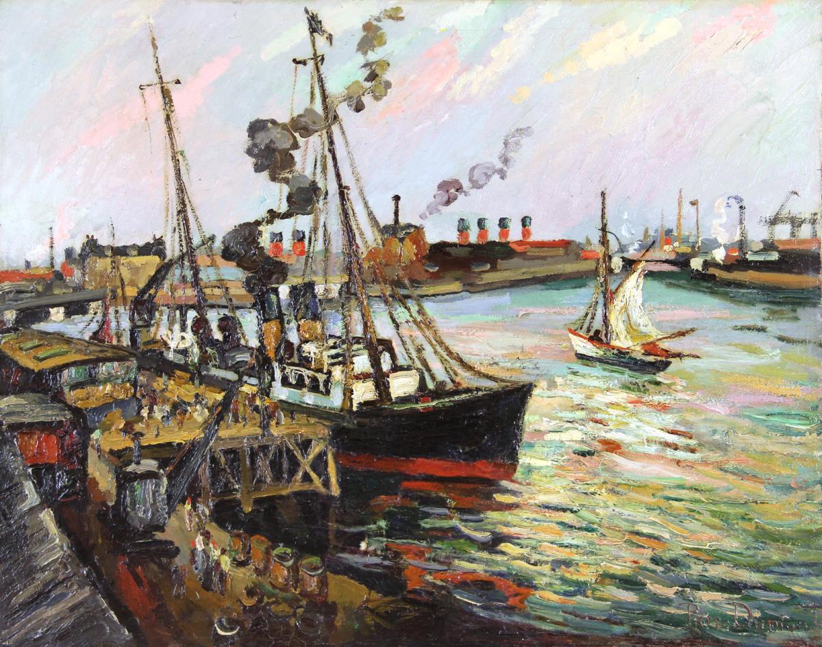"""Pierre Dumont """"the Port Of Havre"""""""