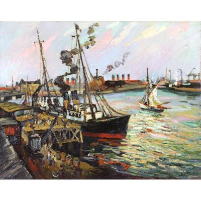 """Pierre Dumont """" Le Port Du Havre """""""