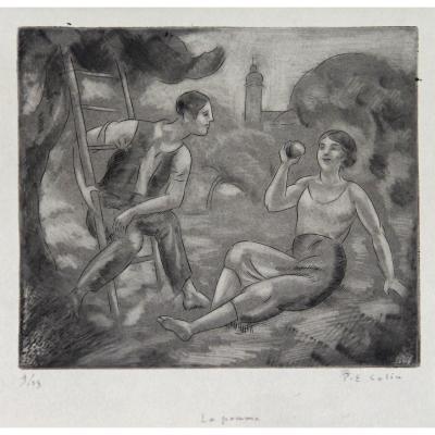 Paul-emile Colin (1867-1949) : La Pomme