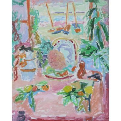 Jules Cavailles : Composition à l'Ananas