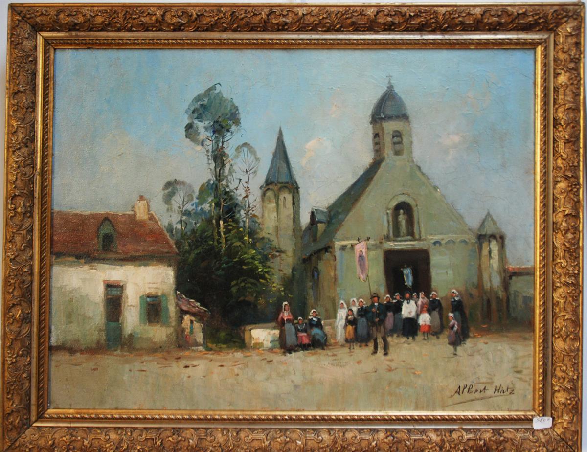 Pardon , Procession En Bretagne Pèlerinage Albert Hirtz