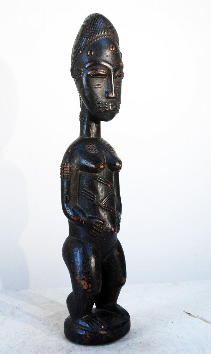 Blolo Bla Baoulé Cote d'Ivoire Avant 1950 authentique Fétiche