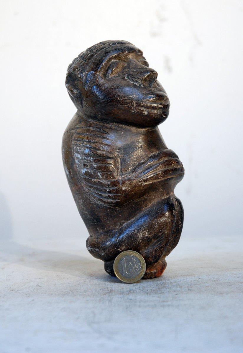 Statuette Nomoli Sierra-leone Pierre Tendre
