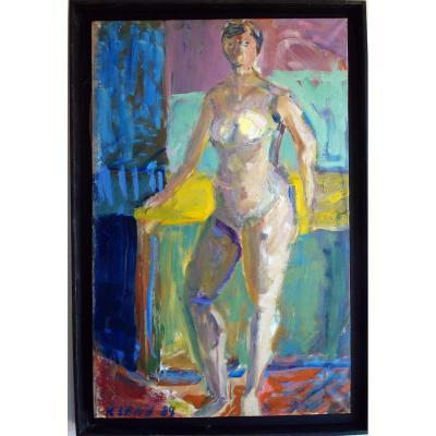 Nu Art Moderne Abstrait Brut Contemporain Eugenij Kleno