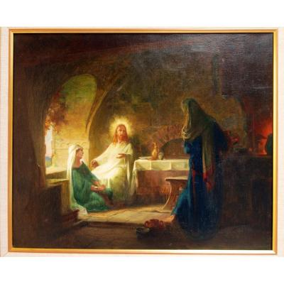 Jésus Marie-madeleine Orientaliste  Religieux Eugene Thiery