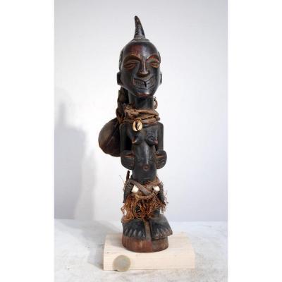 Songyé Statue Nkishi Qualité Musée Collection Aguirregabiria