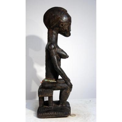 Asie Usu Baoulé Musée Cote d'Ivoire Blolo Bla Ancien Old Antic