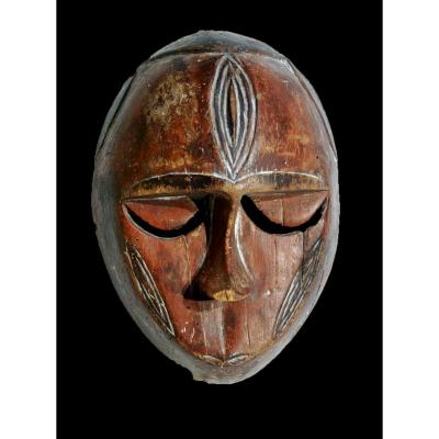 Masque Ekpo Eket Nigeria Ancien Collection Olivier Louis