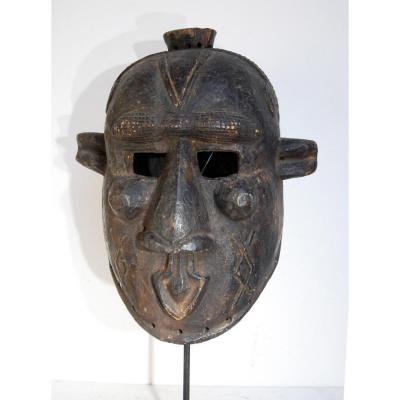 Masque Bindji Kuba Rdc Ancien Antic Collection Olivier Louis