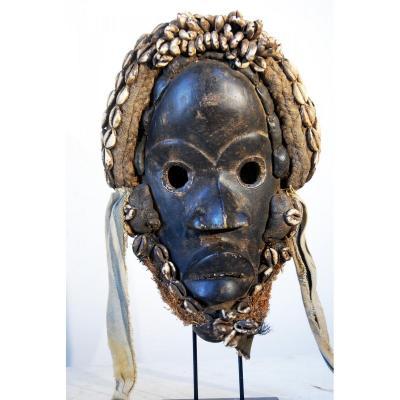 Masque Dan , Côte d'Ivoire Ancien  Collection Privée