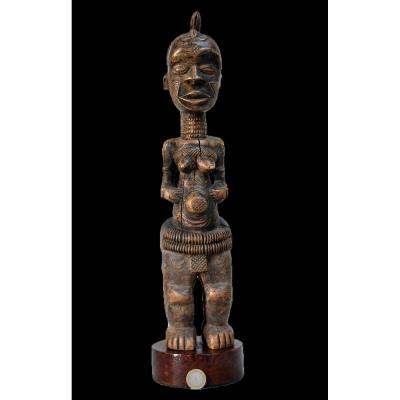 Fetiche Statue Luluwa Ou Bena-lulua  R. D. Du Congo