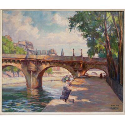 Le Pont Neuf Paris Impressionism By André David