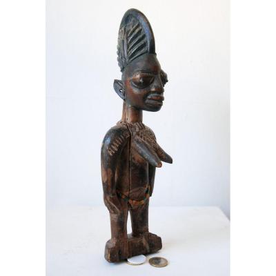 Paire Ibeji Yoruba, Anciens Nigeria Collection Privée Bretagn