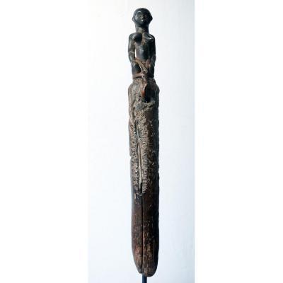 rare sceptre sorcier Fang Gabon chaman médecine guérisseur