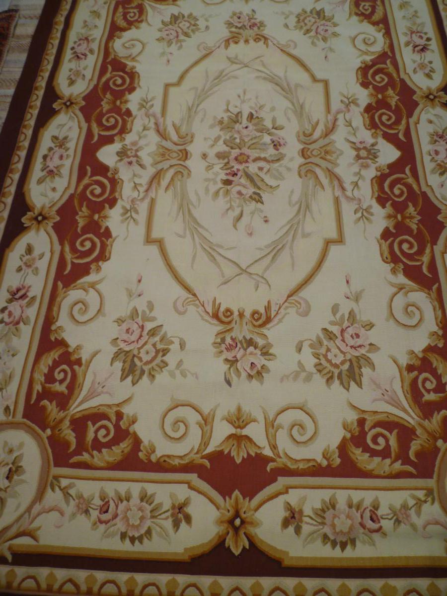 Tapis De Style Aubusson  280 X 186