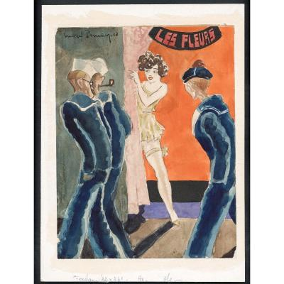 Les Marins Aux Fleurs, 1933
