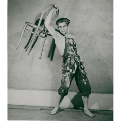Jean Babilé (1923-2014) Le Jeune Homme Et La Mort, 1946