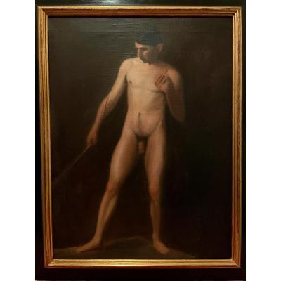 Académie Masculine, Peinture Fin XIXème