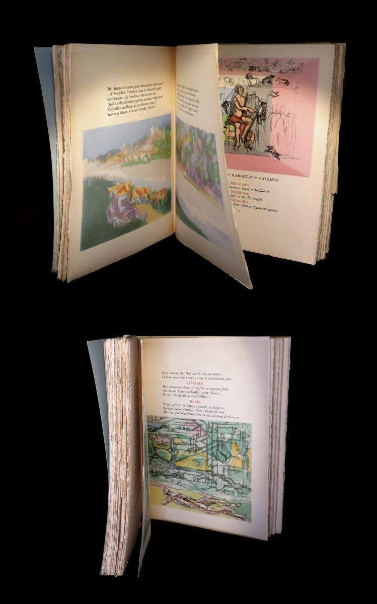 [cubism] Valery (paul) / Villon (jacques, Lithographs From) - Bucoliques. Eo. 1/245-photo-2