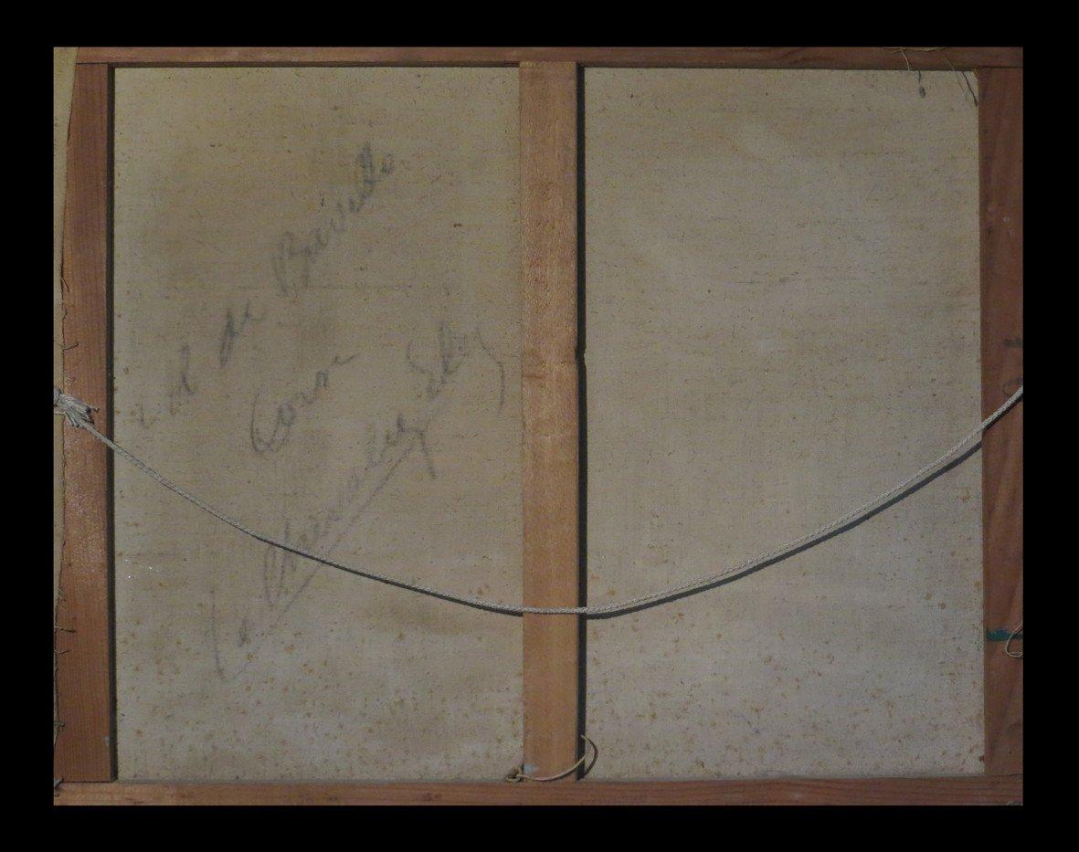[corsica Ajaccio Bonifacio Porto-vecchio Figari] Le Chevalier (ely) - Hst, Signed.-photo-3