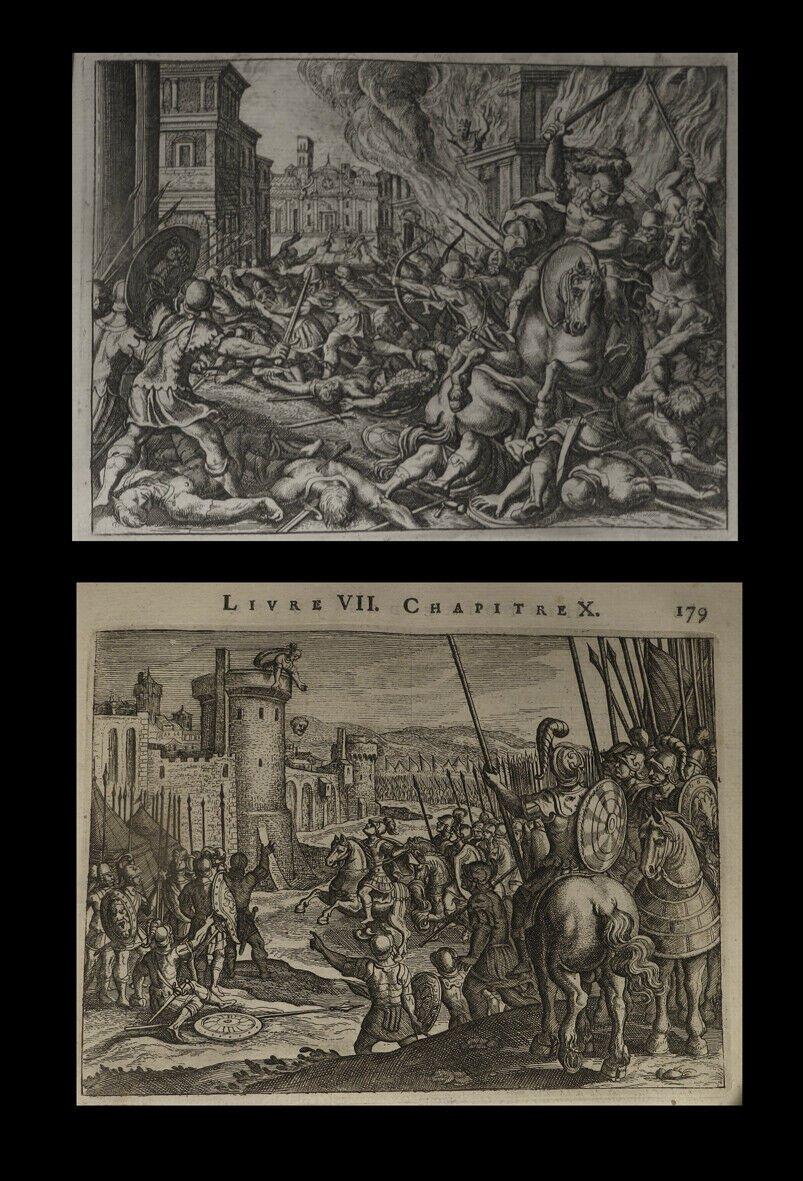 Judaisme Judaica] Josephe (flavius) - Histoire Des Juifs / Antiquités Judaïques 2/2. 1681 Folio-photo-4