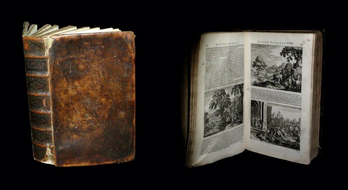 Judaisme Judaica] Josephe (flavius) - Histoire Des Juifs / Antiquités Judaïques 2/2. 1681 Folio