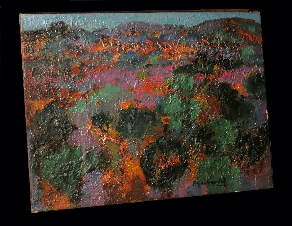 [expressionnisme] Gaillardot (pierre) - [huile Sur Toile, Signée].