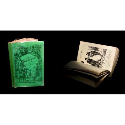 [CARICATURE CHARIVARI] DAUMIER (Honoré, ill. de) - Les Cent Robert Macaire. 1839. 100 lithos.