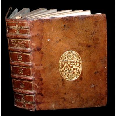 [reliure Aux Armes Jacques-auguste De Thou Theologie] Martyrologium Romanum. 1603.