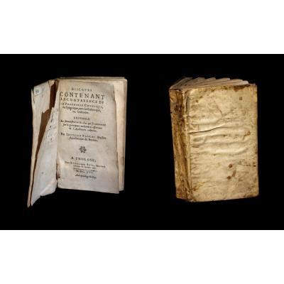 [alchimie Paracelse Imp. Toulouse] Jacques Pascal - Conférence Pharmacie Spagyrique. 1616