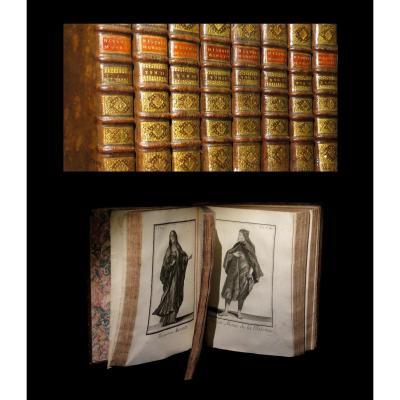 [costumes Chevalerie] Helyot - Histoire Des Ordres Religieux Et Militaires. 8/8. 807 Planches.