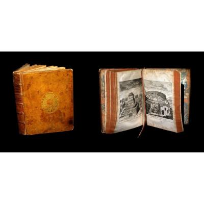 [italia Roma Binding With Arms In-4] Bower - Histoire Universelle. 1748.