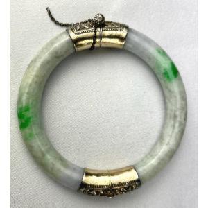 Bracelet Chinois En Jade Ancien