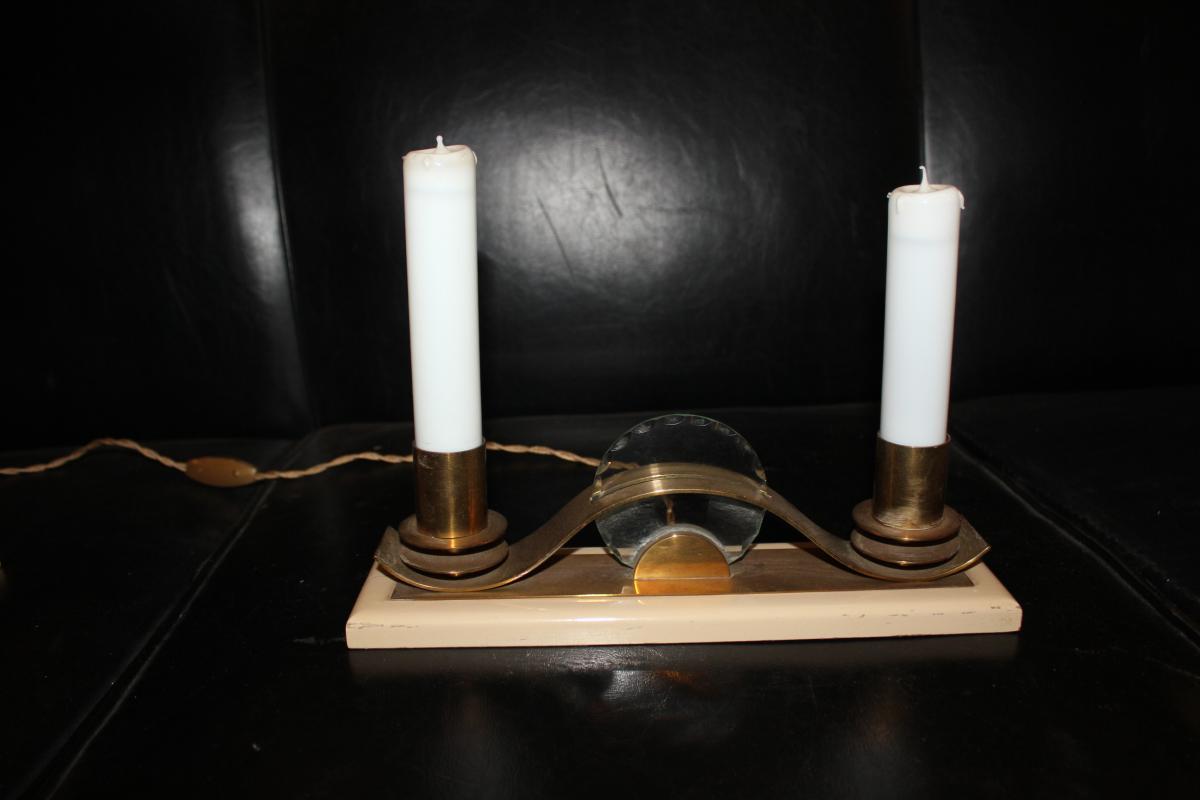 PAIRE DE LAMPES CIRCA40