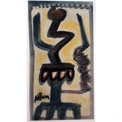 Jean-michel Atlan : Composition, Vers 1951