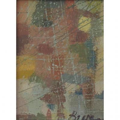 Camille Bryen : Composition, 1973
