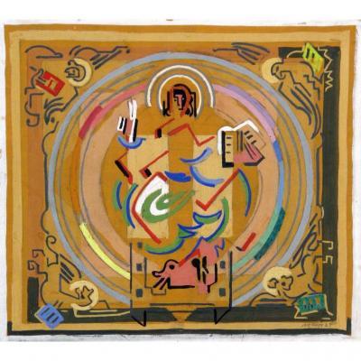 Albert Gleizes : Christ En Majesté, 1934