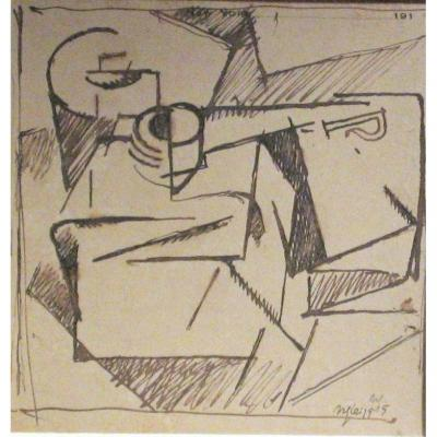 Albert Gleizes : Composition Cubiste, 1915