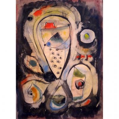 Hans Reichel : Composition N°11, 1953