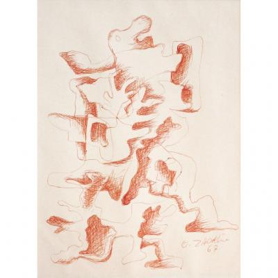 Ossip Zadkine : Composition, 1967